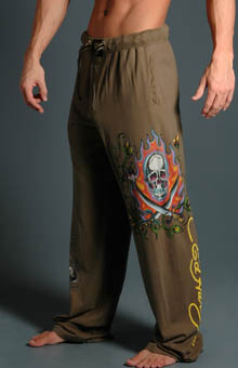Ed Hardy EH9059JP 2 Sword Skull Knit Jersey Pants at Sears.com