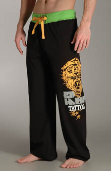 Ed Hardy EH90874 Open Mouth Tiger Jersey Pants at Sears.com