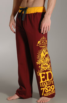 Ed Hardy EH90877 Knife Collage Jersey Pants at Sears.com