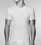 Cotton V-Neck T-Shirt 3 Pack Image