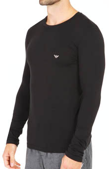 Emporio Armani Cotton Modal Long Sleeve T-Shirt 11102351