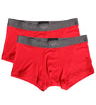 Emporio Armani Basic Stretch Cotton Trunk - 2 Pack 111210D