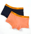 Fashion Stretch Cotton Multipack Trunks - 2 Pack Image