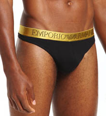 Emporio Armani X-Mas Stretch Cotton Thong 1112153A