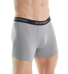 Emporio Armani Stretch Cotton Boxer Brief - 2 Pack 111268C7