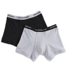 Stretch Cotton Boxer Brief - 2 Pack Image
