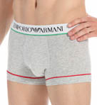 Emporio Armani Italian Flag Stretch Cotton Trunk 111389X