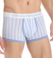 Emporio Armani Printed Fashion Stretch Cotton Trunk 111866J