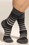 Block Stripe Sock Image