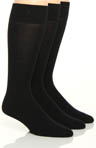 Fashion Basics Solid Flat Knit Socks - 3 Pack Image