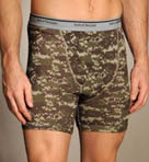 Print/Solid Boxer Briefs - 4 Pack Image