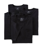 Big Man Pocket T-Shirts - 4 Pack Image
