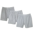 Fruit Of The Loom Print Woven Boxers - 3 Pack 520