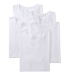 Mens Core 100% Cotton V-Neck T-Shirts - 5 Pack Image