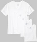 Fruit Of The Loom Big Man V-Neck T-Shirts - 5 Pack 5P2525X
