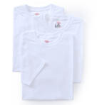 Original Cotton White Crew Neck T-Shirts - 3 Pack Image