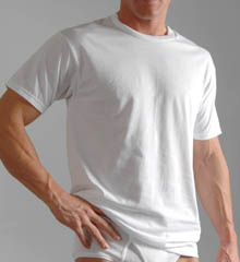 Hanes Big Man Crew T-Shirts - 3 Pack 2135X