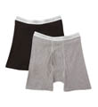 Hanes Original Cotton Boxer Briefs - 2 Pack 2349AT