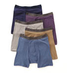 Premium Cotton Stretch Boxer Briefs - 5 Pack Image