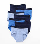 Premium Cotton Full-Cut Assorted Briefs - 7 Pack Image