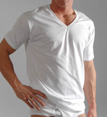 Hanes 777X Big Mens V-neck T-Shirts - 3 Pack