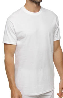 Hanes White Crewneck T-Shirts - 3 Pack 7870W3