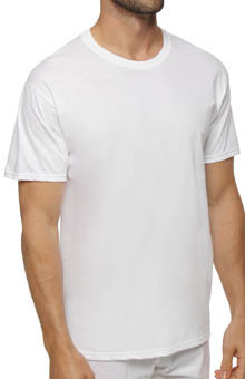 Hanes White Crewneck T-Shirts - 6 Pack 7870W6