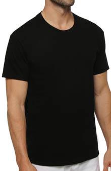 Hanes Black Crewneck T-Shirts - 3 Pack 7873B3