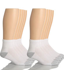 Hanes 86-10 Classic Super Soft Cotton Ankle Socks - 10 Pack