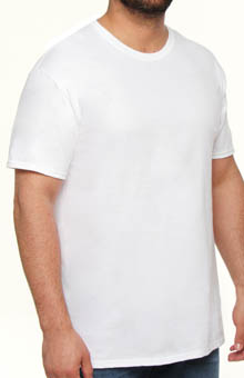 Hanes Tall Crewneck T-Shirts - 2 Pack 9856W2