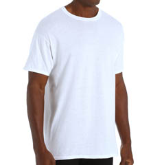 Hanes 9856W4 Tall Man Crew Neck T Shirt- 4 Pack