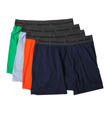 Slim Fit Assorted Dyed Boxer Briefs - 4 Pack Image