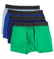Slim Fit Trunks - 4 Pack Image