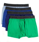Hanes Slim Fit Trunks - 4 Pack CSB2B4