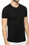 Slim Fit Black Crewneck T-Shirts - 3 Pack Image