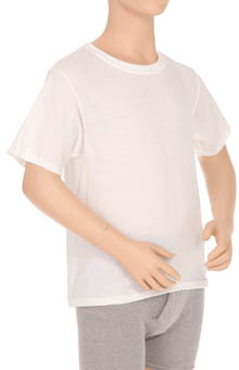 Hanes MC21P4 Boys Crew Neck T-Shirt - 4 Pack