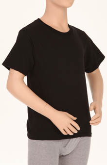 Hanes MCB213 Boys Dyed Crew Neck T-Shirts - 3 Pack