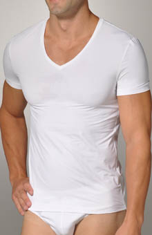 Hanro Micro Touch Short Sleeve Tee 3108