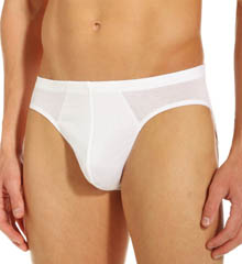 Hanro Cotton Sporty Flyless 3/4 Brief 3501