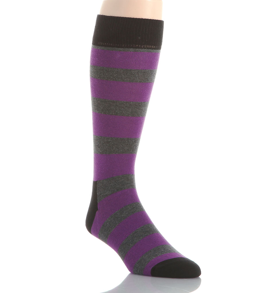 Happy Socks Combed Cotton Rugby Stripe Crew Sock SA01-097 - Happy ...