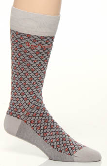 Hugo Boss 0236829 Cotton Modal Print Sock