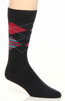 Hugo Boss 0236837 Combed Cotton Argyle Sock