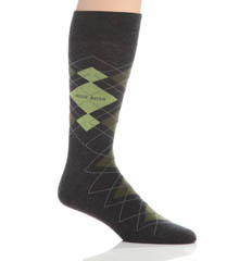 Hugo Boss Combed Cotton Argyle Socks 0259928