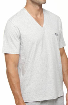 Hugo Boss 203938 V-Neck Short Sleeve T-Shirt