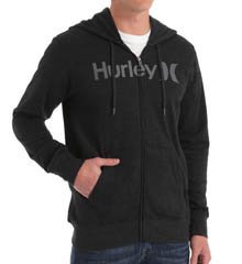 Hurley One & Only Zip Fleece Jacket MFT4030
