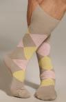 Classic Argyle Mid Calf Sock Image