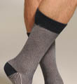 Two Color Birdseye Mid Calf Sock Image