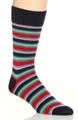 Wide Stripe Sock Image