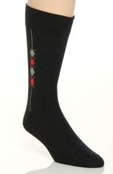 JM Dickens Side Argyle Sock 10067