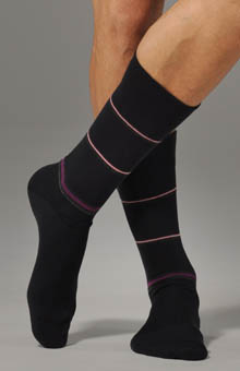 JM Dickens Spaced Stripe Sock 301234